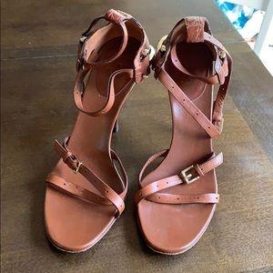 Gucci Horsebit Ankle Strap Pumps 37.5